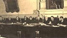 Venäjän 'väliaikainen hallitus' maaliskuussa 1917.